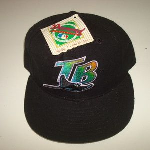 Other - TAMPA BAY DEVIL RAYS VINTAGE 90S HAT CAP NEW ERA